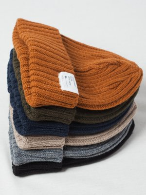 <img class='new_mark_img1' src='https://img.shop-pro.jp/img/new/icons20.gif' style='border:none;display:inline;margin:0px;padding:0px;width:auto;' />20%OFF【Racal】 Standard Knit Cap Knit Watch 20Winter / スタンダードニットキャップ : ニットワッチ -6色展開-