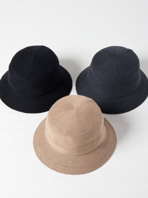 <img class='new_mark_img1' src='https://img.shop-pro.jp/img/new/icons15.gif' style='border:none;display:inline;margin:0px;padding:0px;width:auto;' />【Racal】Thermo Solid Knit Bucket Hat / サーモソリッドニットバケットハット -3色展開-