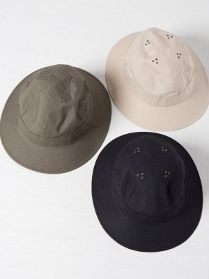 <img class='new_mark_img1' src='https://img.shop-pro.jp/img/new/icons15.gif' style='border:none;display:inline;margin:0px;padding:0px;width:auto;' />【Racal】Water Proof 4Panel Metro Hat / 撥水コットン4パネルメトロハット -3色展開-