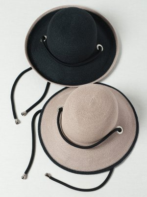 <img class='new_mark_img1' src='https://img.shop-pro.jp/img/new/icons15.gif' style='border:none;display:inline;margin:0px;padding:0px;width:auto;' />【Indietro Association】 Braid sun hat -2色展開-