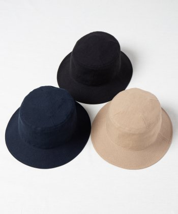 <img class='new_mark_img1' src='https://img.shop-pro.jp/img/new/icons15.gif' style='border:none;display:inline;margin:0px;padding:0px;width:auto;' />【Racal】Linen Canvas Standard Bucket Hat / リネンキャンバスバケットハット -3色展開-