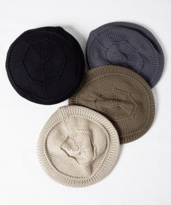 <img class='new_mark_img1' src='https://img.shop-pro.jp/img/new/icons15.gif' style='border:none;display:inline;margin:0px;padding:0px;width:auto;' />【Racal】Knit Tam Beret / ニットタムソフトベレー -4色展開-