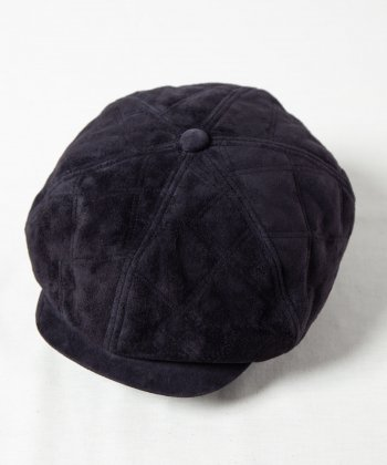 <img class='new_mark_img1' src='https://img.shop-pro.jp/img/new/icons15.gif' style='border:none;display:inline;margin:0px;padding:0px;width:auto;' />【Indietro Association】 Quilting leather casquette -1色展開-
