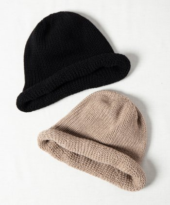 <img class='new_mark_img1' src='https://img.shop-pro.jp/img/new/icons15.gif' style='border:none;display:inline;margin:0px;padding:0px;width:auto;' />【Indietro Association】 Cashmere roll knit cap -2色展開-