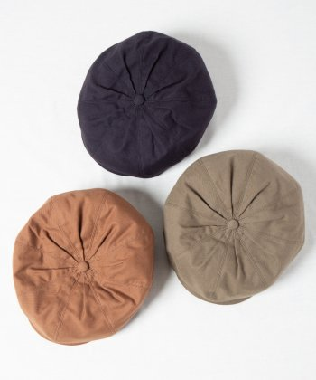 <img class='new_mark_img1' src='https://img.shop-pro.jp/img/new/icons15.gif' style='border:none;display:inline;margin:0px;padding:0px;width:auto;' />【Racal】Gathered 8Panel Casquette Beret / トップギャザー 8パネル キャスケットベレー -3色展開-