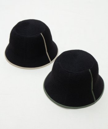 <img class='new_mark_img1' src='https://img.shop-pro.jp/img/new/icons15.gif' style='border:none;display:inline;margin:0px;padding:0px;width:auto;' />【Racal】Wool Tulip Hat / ウールチューリップハット -2色展開-