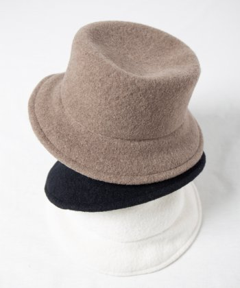 <img class='new_mark_img1' src='https://img.shop-pro.jp/img/new/icons15.gif' style='border:none;display:inline;margin:0px;padding:0px;width:auto;' />【Racal】Wool Knit Soft Bucket Hat / 縮絨ウールニットソフトバケットハット -3色展開-