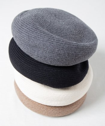<img class='new_mark_img1' src='https://img.shop-pro.jp/img/new/icons15.gif' style='border:none;display:inline;margin:0px;padding:0px;width:auto;' />【Racal】Wool Braid Beret / ウールブレードベレー -4色展開-