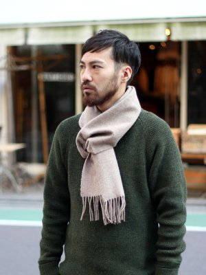 <img class='new_mark_img1' src='https://img.shop-pro.jp/img/new/icons20.gif' style='border:none;display:inline;margin:0px;padding:0px;width:auto;' />【40%OFF】 British Lambs Wool Scarf