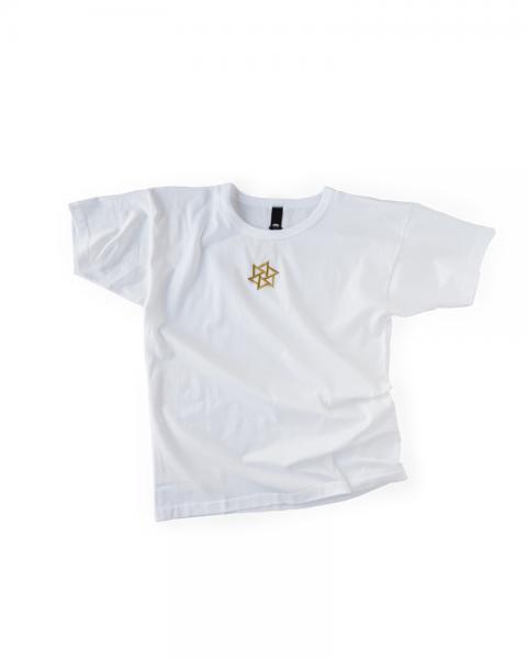 ≪OSA≫Tシャツ1号 鱗廻刺繍 白