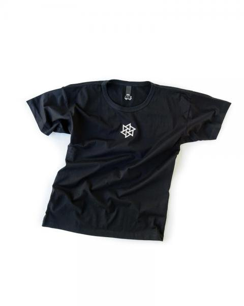 ≪OSA≫Tシャツ1号 鱗廻刺繍 黒