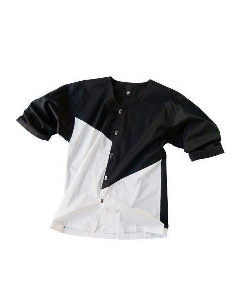 ≪OSA≫ダボシャツ1号 白に黒