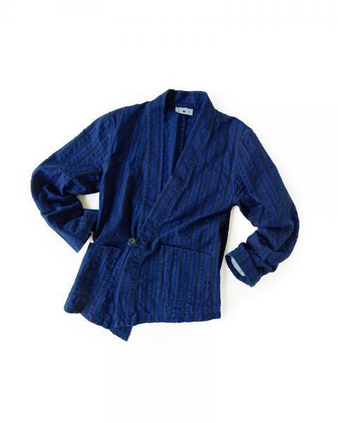 ≪義志≫大和羽織 型第8 「細縞」 藍