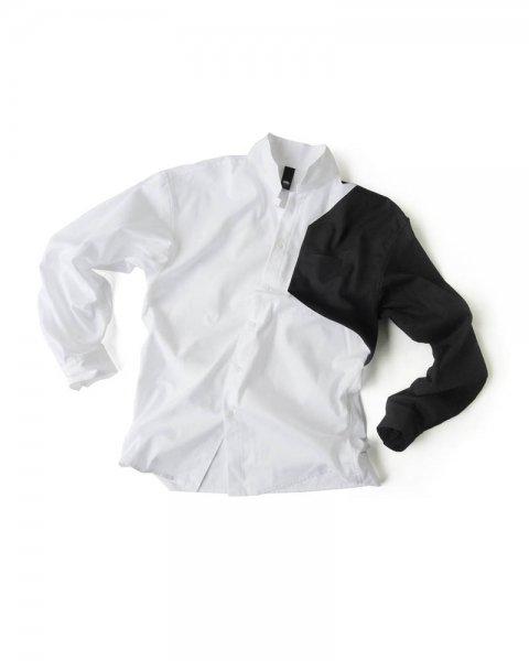 ≪OSA≫シャツ3号 白に黒