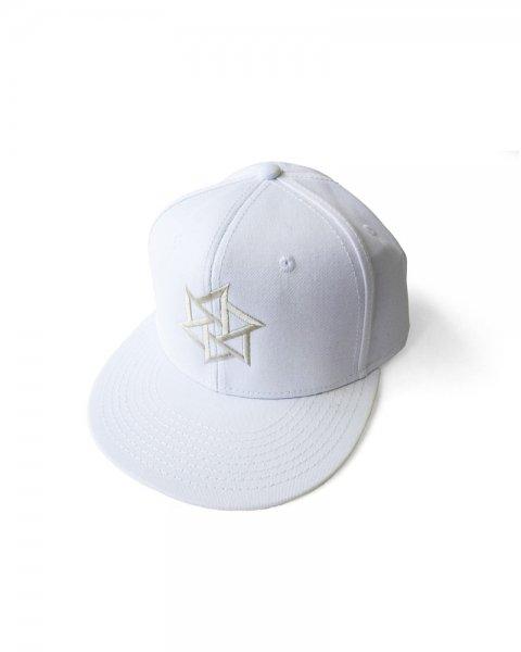 ≪OSA≫帽子1号「鱗廻」 白(白刺繍)