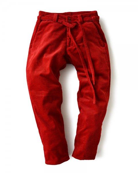 ≪義志≫段袋 型第1 「毛羽畝」  赤