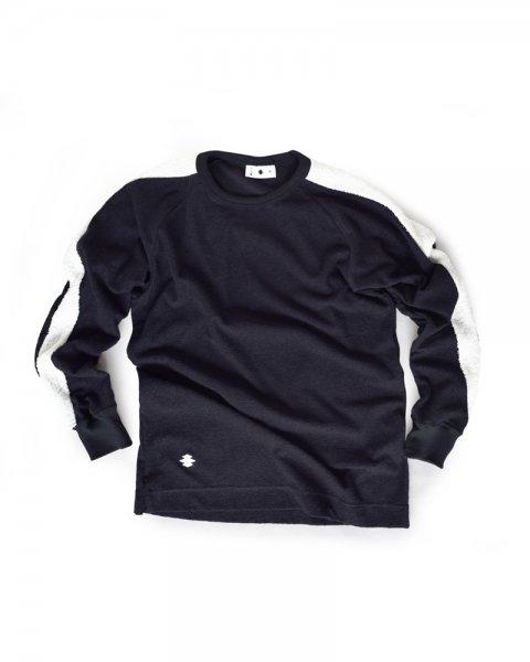 ≪義志≫Tシャツ 型第99 「立涌紋」 紺