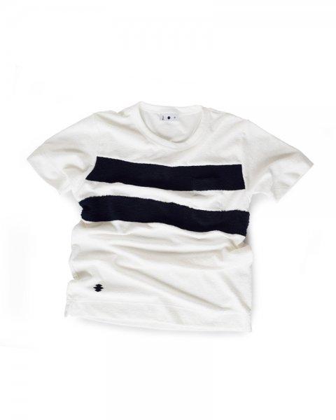 ≪義志≫Tシャツ 型第101 「二本引き」 白