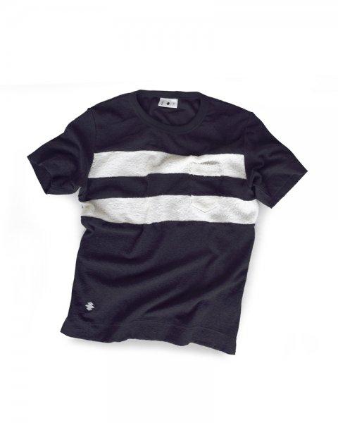 ≪義志≫Tシャツ 型第101 「二本引き」 紺