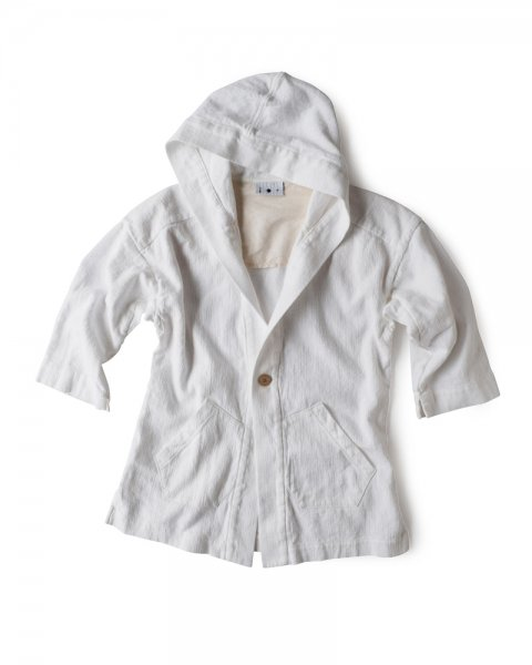 ≪義志≫頭巾羽織 型第2 白