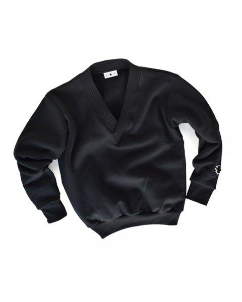 ≪義志≫かぶり道着襟羽織 型第2 黒