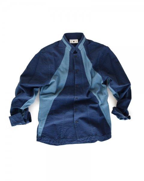 ≪義志≫陣羽織シャツ型第5 藍