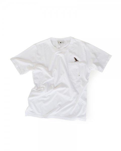 ≪義志≫Tシャツ 型第103 「雀」 白