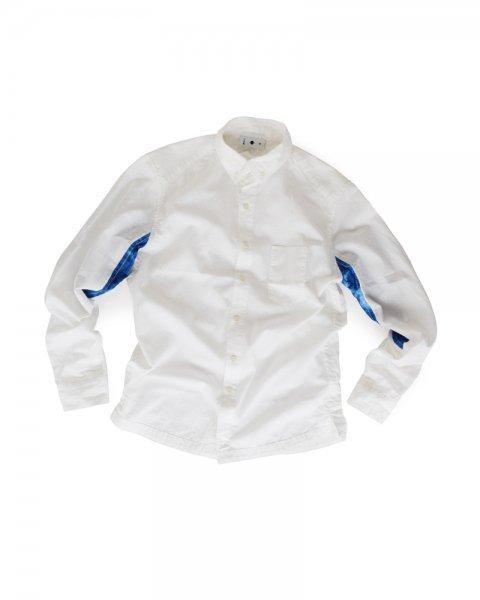 ≪義志≫陣羽織シャツ型第23 「陽炎」 白