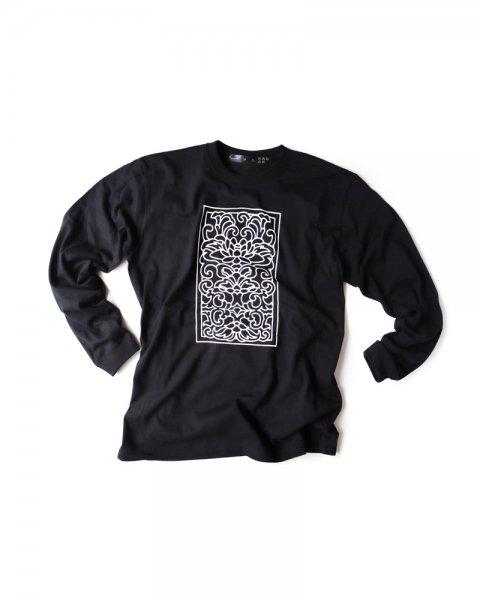 ≪OSA≫Tシャツ0号 長袖 「唐花」