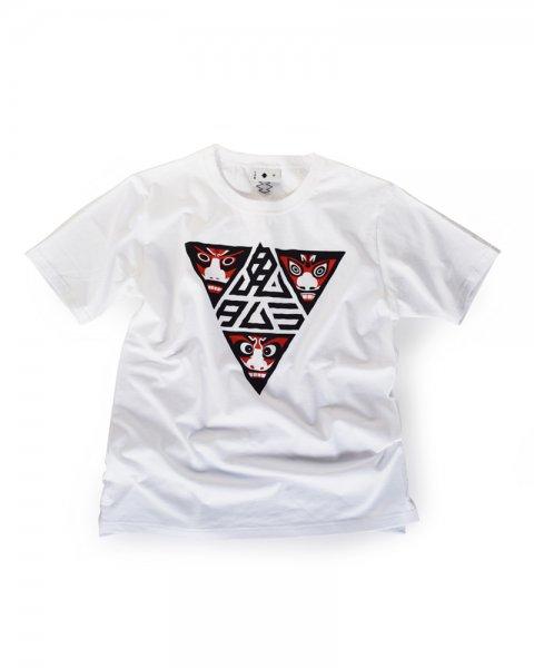 ≪義志≫Tシャツ 型第84 「オニタムラ弐」白