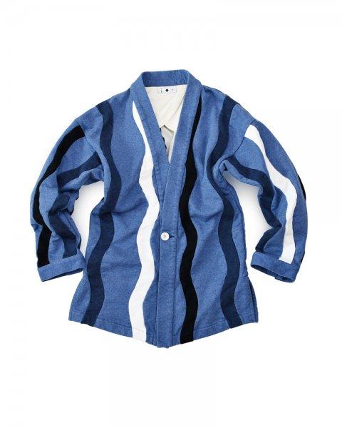≪義志≫大和羽織 型第15 「立涌文」 藍