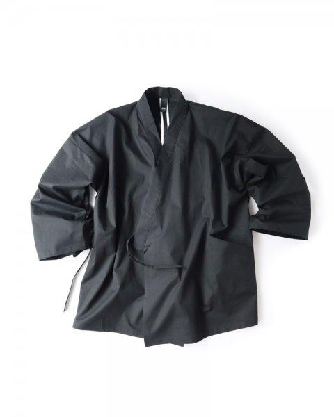 ≪OSA≫作務衣1号 「洗い綿」黒