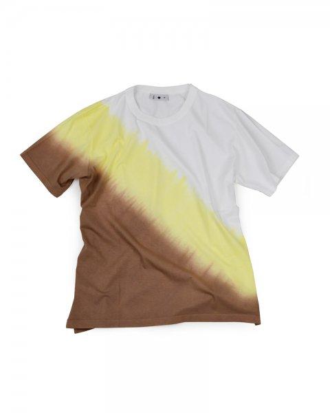 ≪義志≫Tシャツ 型第105 枯茶×菜の花