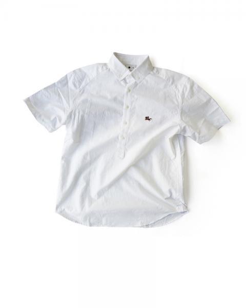 ≪義志≫陣羽織シャツ 型第20 「馬上の侍」 白