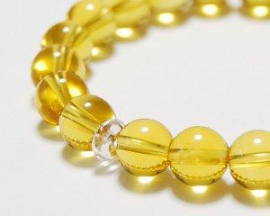 シトリン 天然石ブレスレット 〜太陽の輝きが幸運を呼ぶ 詳細画像2