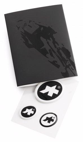 廃番取扱い終了【ASSOS/アソス】エリップス ステッカー 3-D セット