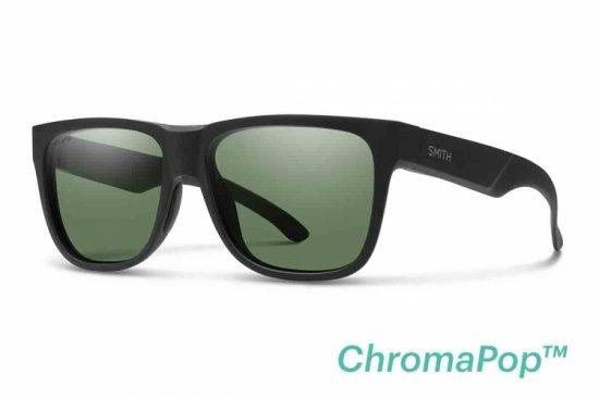 【SMITH/スミス】LOWDOWN 2 Matte Black / ChromaPop Polarized Gray Green(偏光)