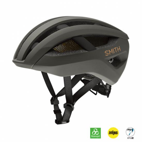 【SMITH / スミス】ヘルメット NETWORK  MIPS Matte Gravy