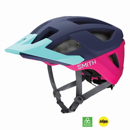 【SMITH / スミス】ヘルメット SESSION  MIPS Matte Indigo / Peony / Iceberg