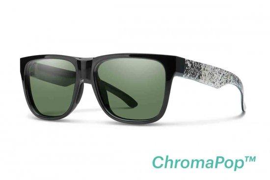 【SMITH/スミス】LOWDOWN 2 Black Canvas Splatter ChromaPop Gray Green