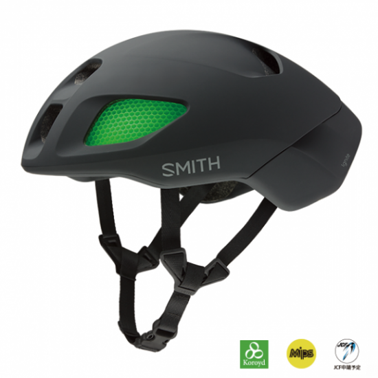【SMITH / スミス】ヘルメット IGNITE  MIPS Matte Black
