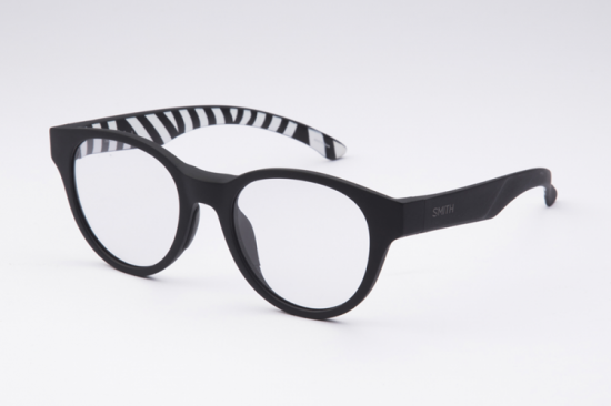 【SMITH/スミス】Photochromic Clear(調光)SNARE Squall(Matte Black × Zebra)