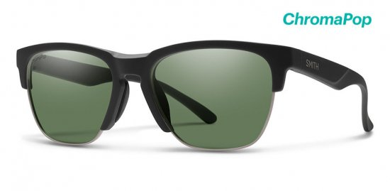 【SMITH/スミス】HAYWIRE Matte Black / ChromaPop Polarized Gray Green(偏光)