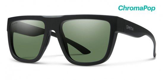 【SMITH/スミス】THE COMEBACK Matte Black / ChromaPop Polarized Gray Green(偏光)