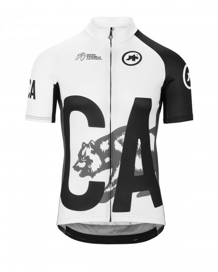 【ASSOS/アソス】TOUR OF CALIFORNIA 2019 GRAY - BLACK LIMITED EDITION SS JERSEY