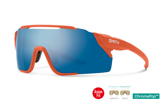 【SMITH/スミス】ATTACK MTB MATTE RED ROCK 2 Lens Set(ChromaPop Sun Blue Mirror & CP Low Light Amber)