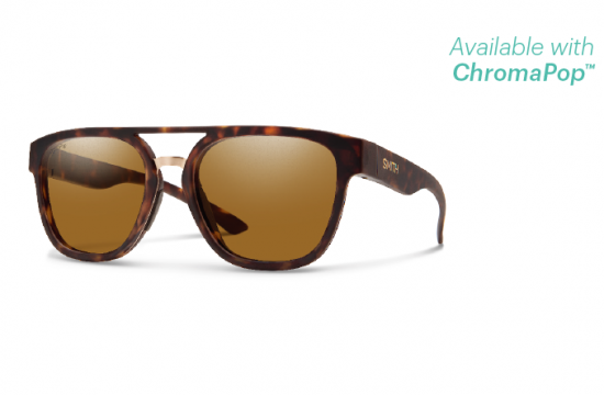 【SMITH/スミス】AGENCY/エージェンシー MATTE TORT ChromaPop Polarized Brown(偏光)
