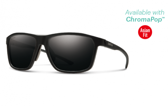 【SMITH/スミス】PINPOINT/ピンポイント MATTE BLACK ChromaPop Polarized Sun Black(偏光)