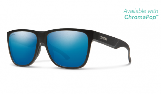 【SMITH/スミス】LOWDOWN XL 2/ローダウン XL 2 MATTE BLACK ChromaPop Polarized Blue Mirror(偏光)