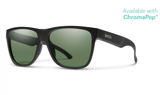 【SMITH/スミス】LOWDOWN XL 2/ローダウン XL 2 MATTE BLACK ChromaPop Polarized Gray Green(偏光)